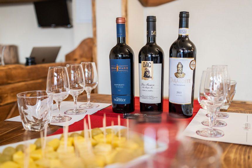 Degustare de vinuri moldovenești