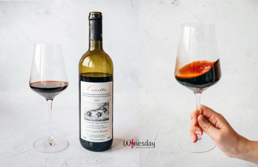 Un vin de culoarea chihlimbarului care m-a fermecat – Caretta 2012, Solomos Wines