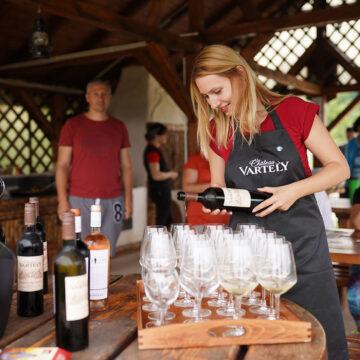 Cum au fost degustările de vin organizate în cadrul taberelor de echitație