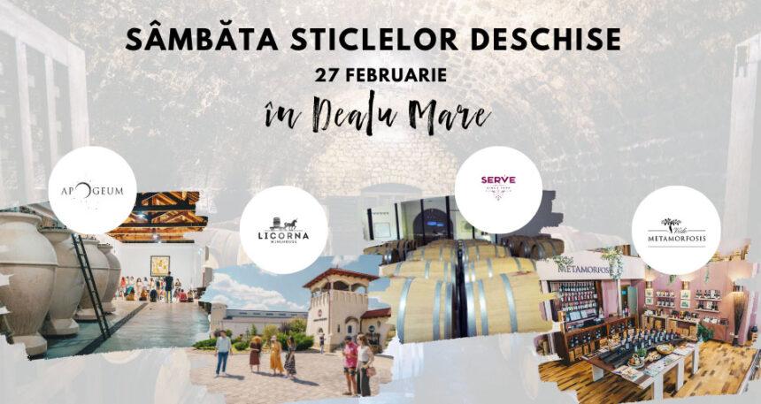 Sâmbăta sticlelor deschise în Dealu Mare – 27 februarie 2021