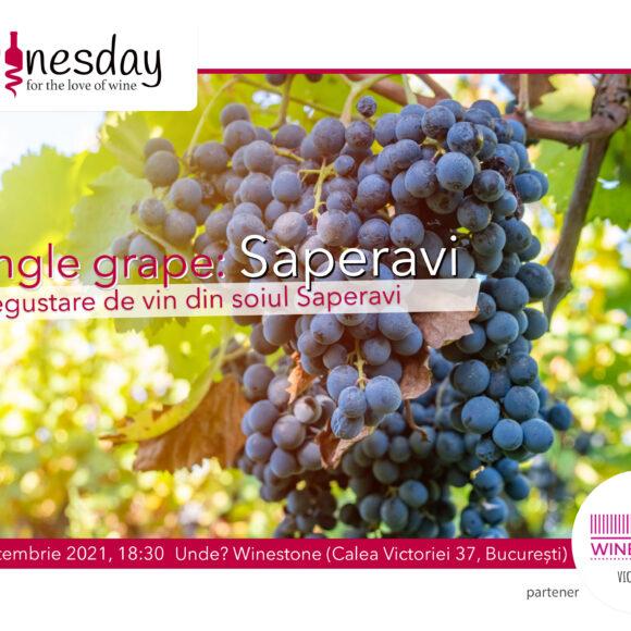 Single Grape: Saperavi